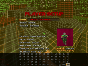 Character input grid - ZDoom Wiki